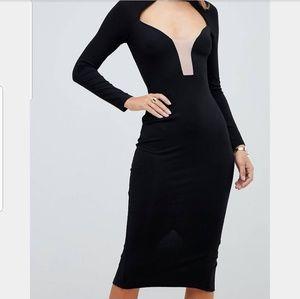 The Plunge Dress